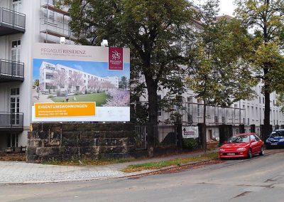 Bauschild-Dresden-Striesen-wegaswerbung